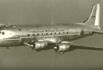 самолет DC-4