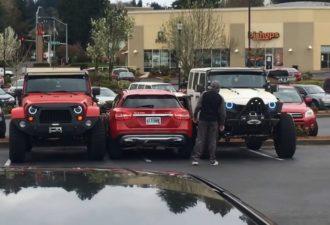Королю парковки