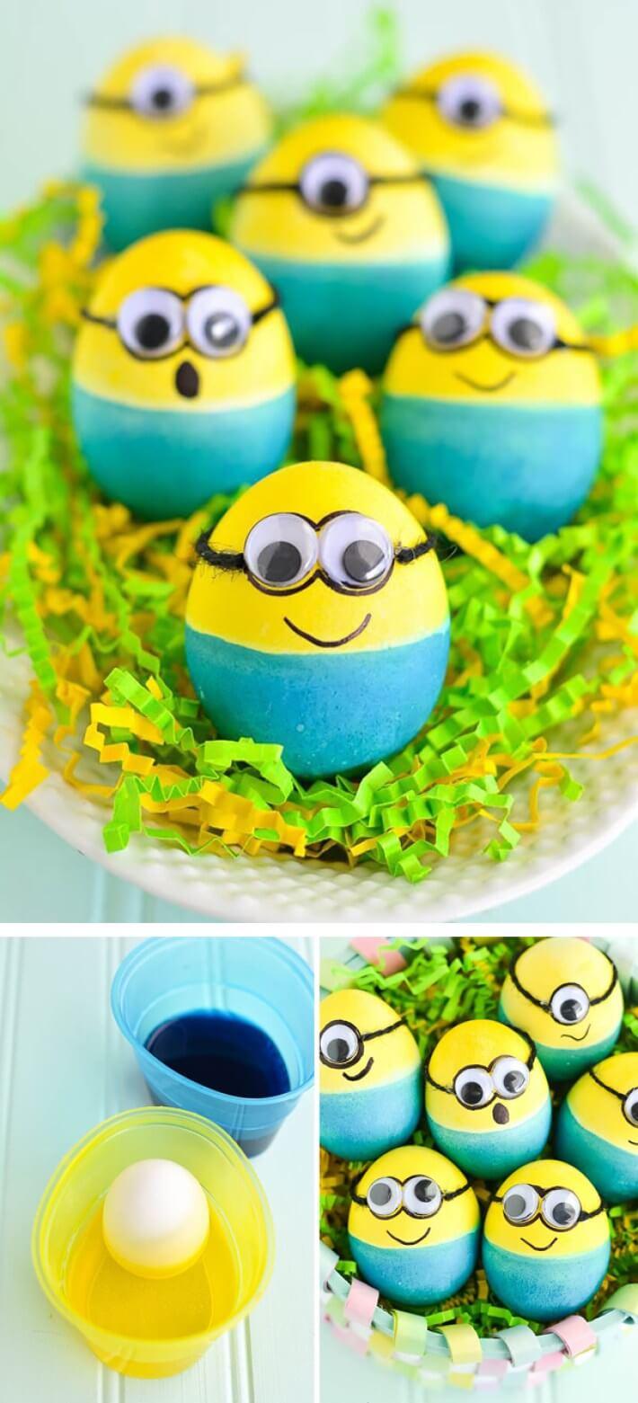 красивых пасхальных яиц
