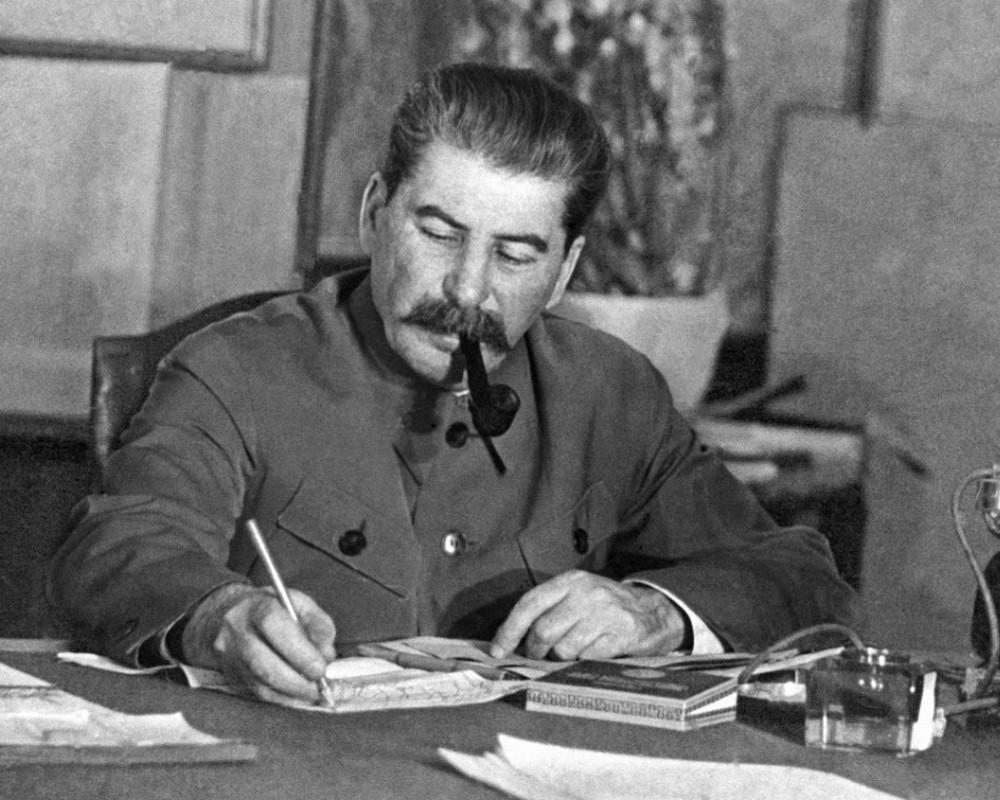 Сталин написал учителю своего сына