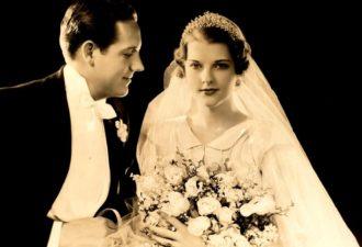 Старинные свадебные фото