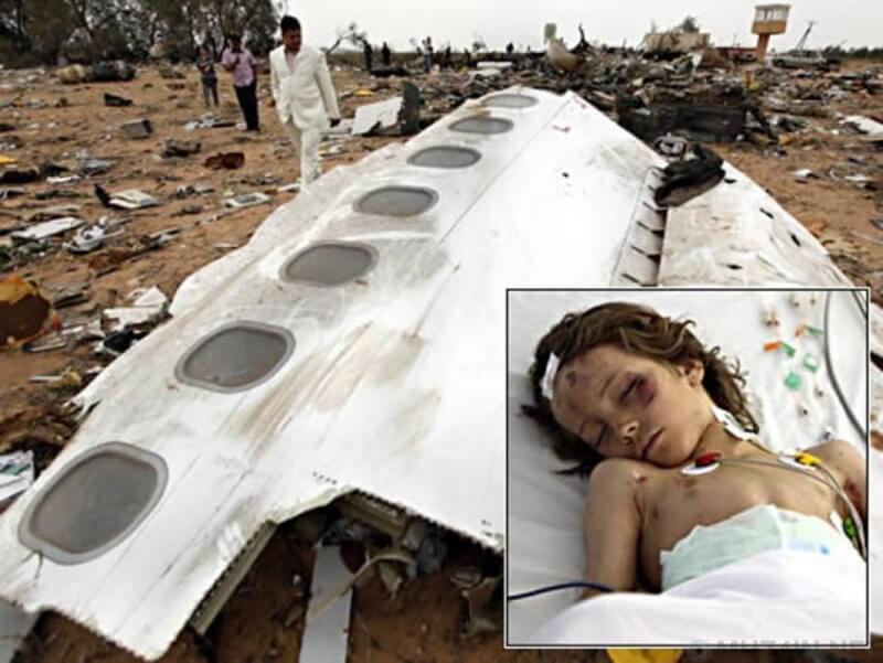 выживших после авиакатастроф