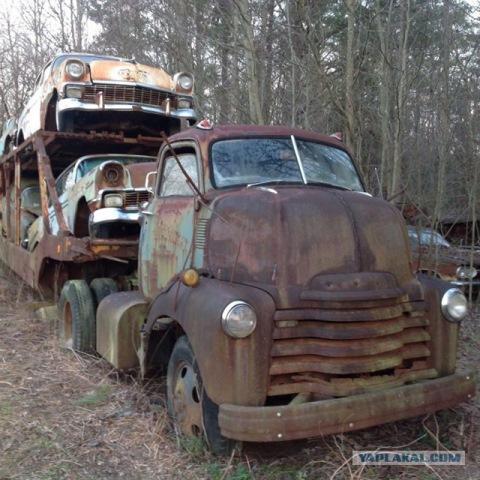 Брошенный автовоз