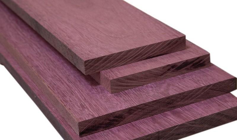 33 тысячи долларов за куб, Амарант (Пурпурное сердце)