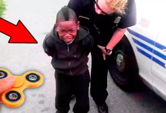Истории детей, арестованных за использование спиннера