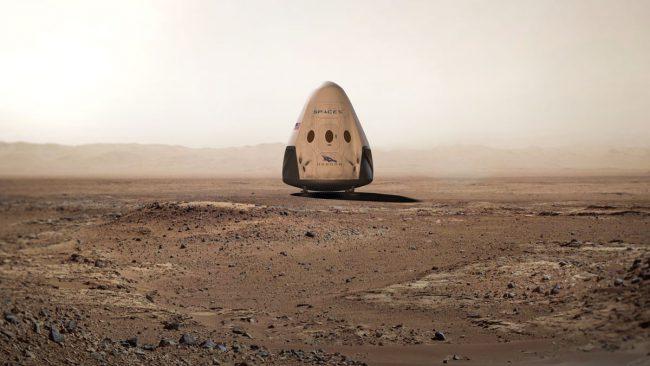 Марсианский план Илона Маска