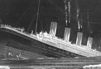 """гипотеза о гибели легендарного """"Титаника"""""""