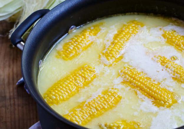 вкусный способ сварить кукурузу