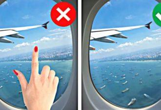 10 вещей, которые нельзя делать в самолёте