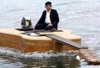 креативные лодки