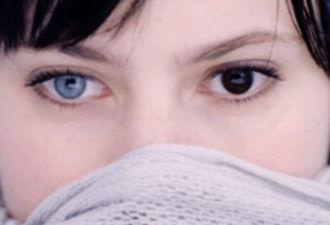 разный глаз