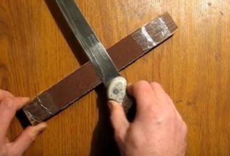 легко и просто заточить нож