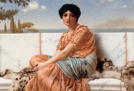Древнегреческая богиня сафо