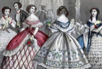 предметы гардероба 19 века